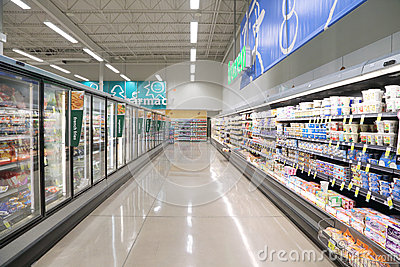 Supermarket Editorial Image