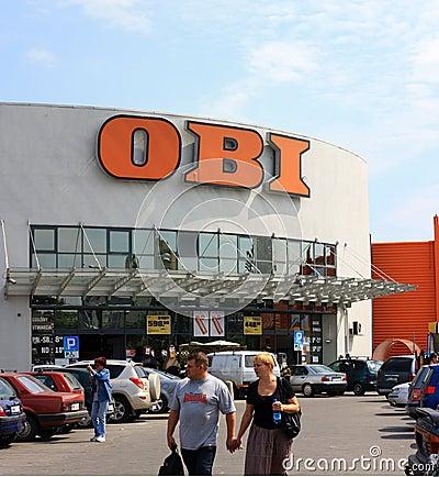 Supermarket Obi Editorial Photo
