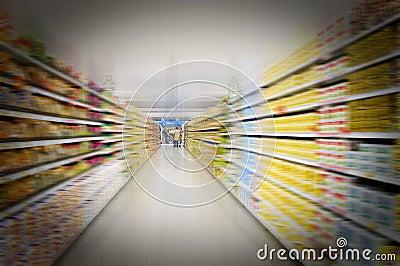Supermarket view