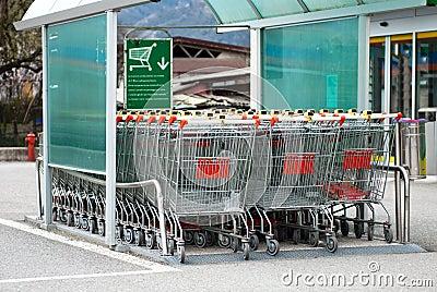 Supermarketa tramwaj