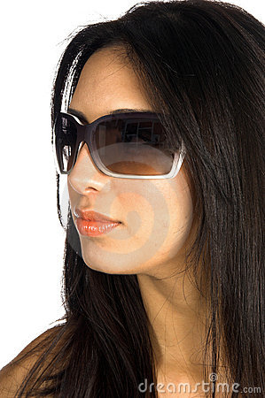 Free Supermodel Glasses Royalty Free Stock Photo - 472135