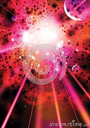 Free Supernova Background Stock Image - 8421501