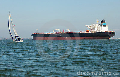 Supertanker Genmar Maniate Editorial Image