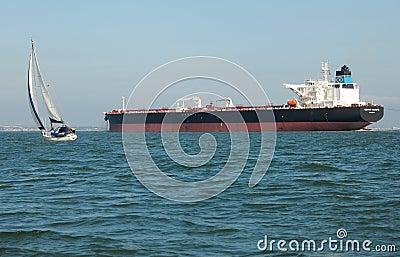 Supertanker Genmar Maniate Editorial Image