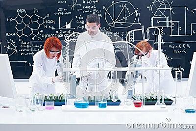 Supervised laboratory experiment