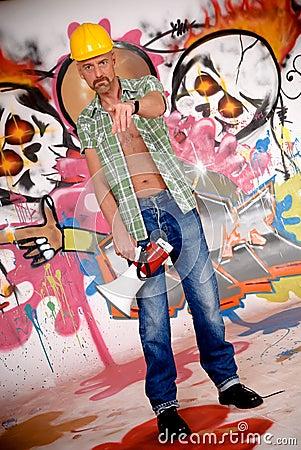 Supervisor urban graffiti