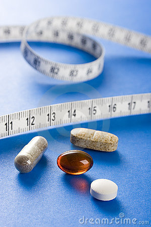 Free Supplement Of Diet (cyjan) Stock Photography - 776432