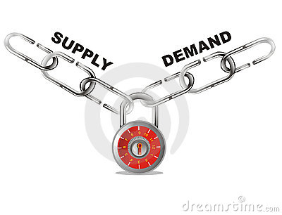 Supply and demand connect chain