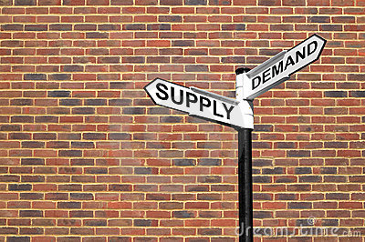 Supply and Demand signpost