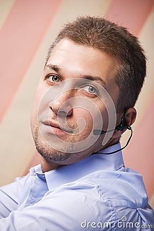 Support operator man