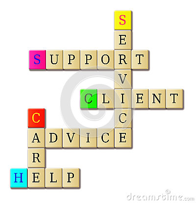 Support service crossword puzzle