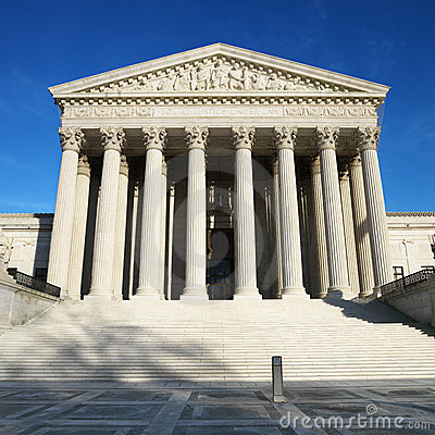 Free Supreme Court Building Stock Image - 2046701