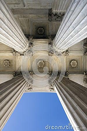 Free Supreme Court Columns Stock Image - 7901301