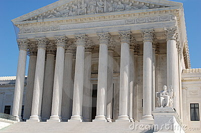 The Supreme Court of the United States Editorial Stock Image