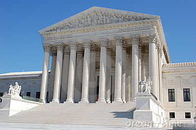 The Supreme Court of the United States Editorial Image