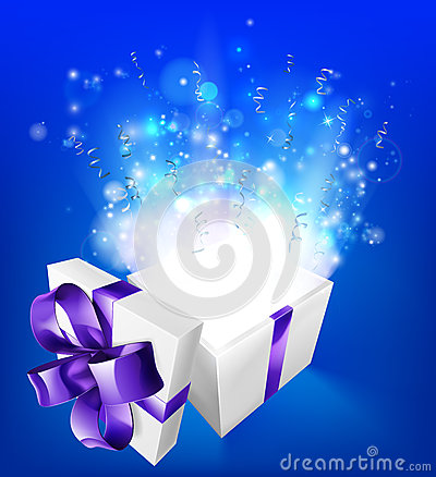 Free Suprise Magical Gift Stock Photos - 60751483