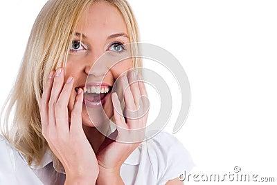 Suprise woman