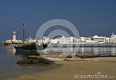 Sur s harbor, Oman