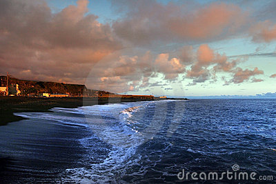 Surf of Atlantic Ocean