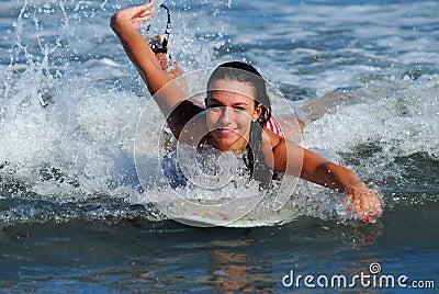 Surf babe!