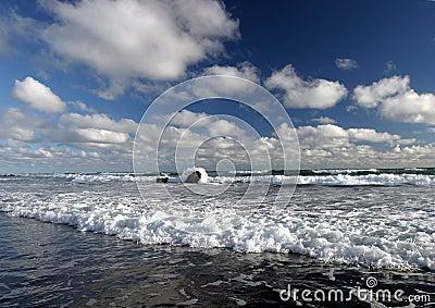 Surf & Clouds