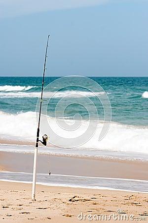 Surf fishing royalty free stock photo image 4744445 for Surf fishing florida