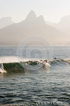 Surf in Ipanema Beach