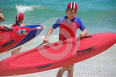 Surf Life Saving Australia Editorial Stock Image