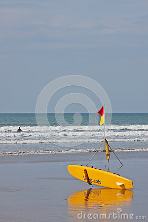 Surf Safety Editorial Photo