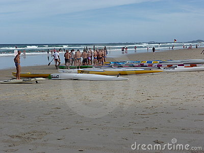 Surf ski class Editorial Photo