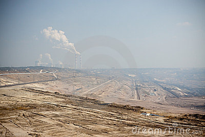 Surface coal mining