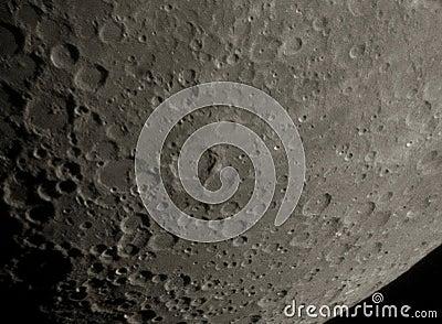Surface de lune