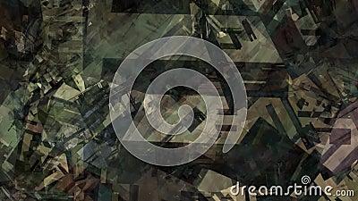Surface du matériau chaotique superficielle par les agents par peinture géométrique urbaine de texture de résumé tombant dans l'i illustration libre de droits