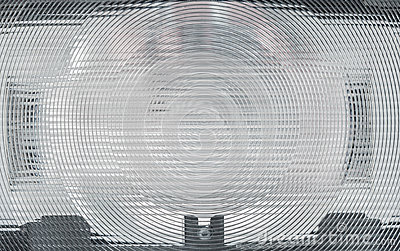 Surface of flash lens.