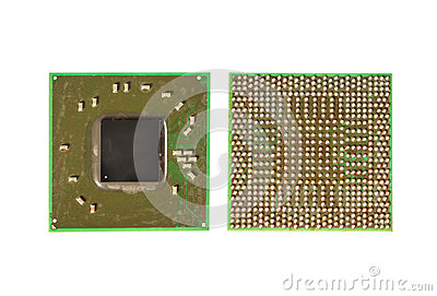 Surface mount Integrated circuit chip