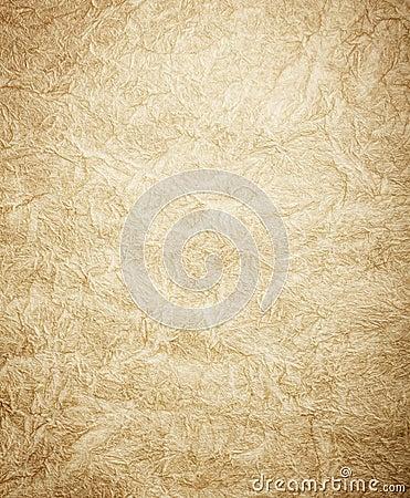 Surface texturisée fanée d or