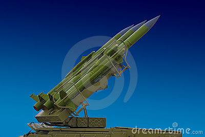 Surface to air, anti aircraft missile