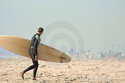 Surfer Editorial Photography