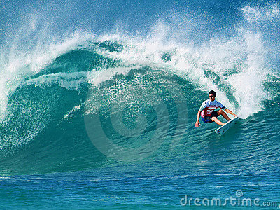 Surfer Gabriel Medina Surfing Pipeline in Hawaii. Image: 22417473