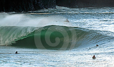Surfer irlandais