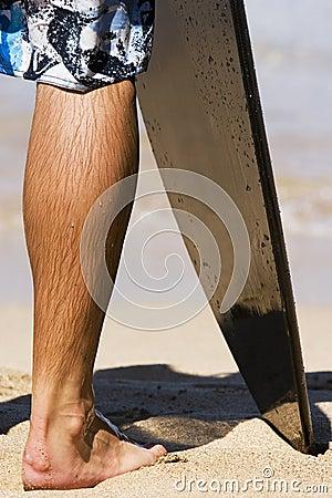 Surfer Leg