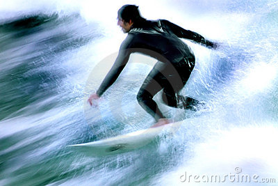 Surfer In Motion 4