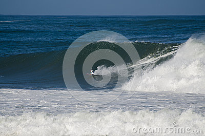 Surfer during the the National Open Editorial Image