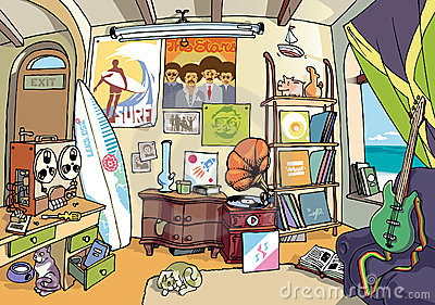 The surfer s room