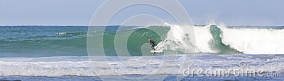 Surfing in Cornwall Editorial Image