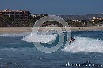 Surfing Costa Azul Los Cabos Mexico