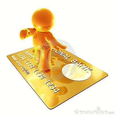 Surfing on a credit card