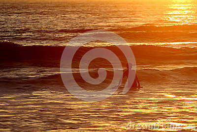 Surfing end of the day