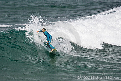 Surfing - Newquay - Cornwall - England Editorial Photo