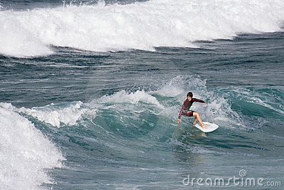 Surfing - Newquay - Cornwall - England Editorial Photography